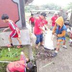 Kegiatan Bali Resik Sampah Plastik Bulan Januari di  Dusun Batusesa
