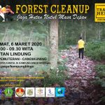 """Gerakan Bali Resik Sampah dalam acara """"FOREST CLEANUP"""" – Jaga Hutan Untuk Masa Depan"""